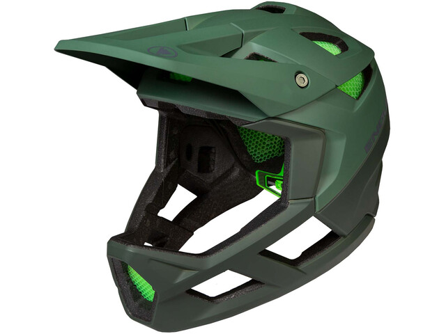 Endura MT500 Full face-kypärä, forestgreen